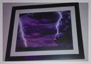 Bild mit Blitzen