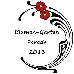 Blumen Garten Parade 2013 Logo