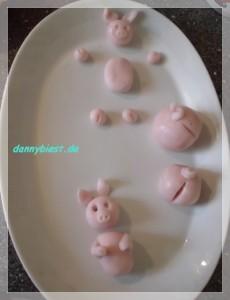 Fondant Schweine