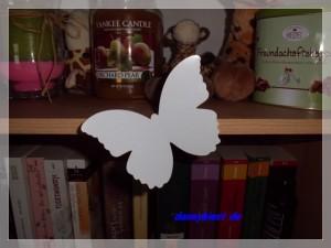 Schmetterling 3 D Wandtattoo