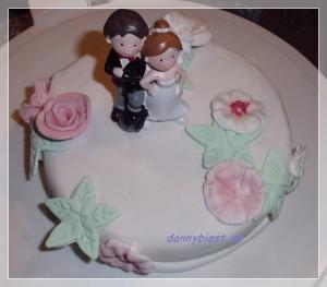 kleine Torte fertig